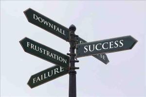 Beitragsbild für Beitrag Tipps für ein Leben im Frust: Wegwesier für Frustration oder Erfolg