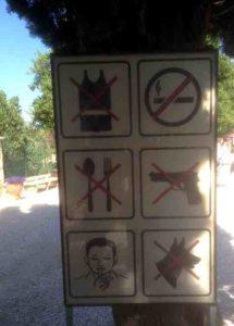 Reise nach Jerusalem: keine Schußwaffen bitte