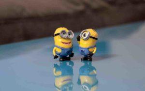 Small Talk bei Minions